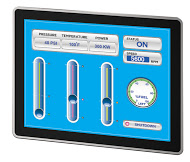 Projected Capacitive Touch, Multi-Touch, Industrial Displays, Panel Mount