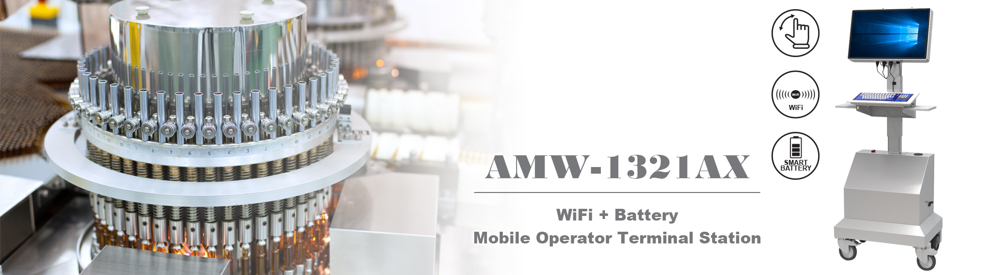 Mobile Operator Terminal Stations - AMW-1321AX